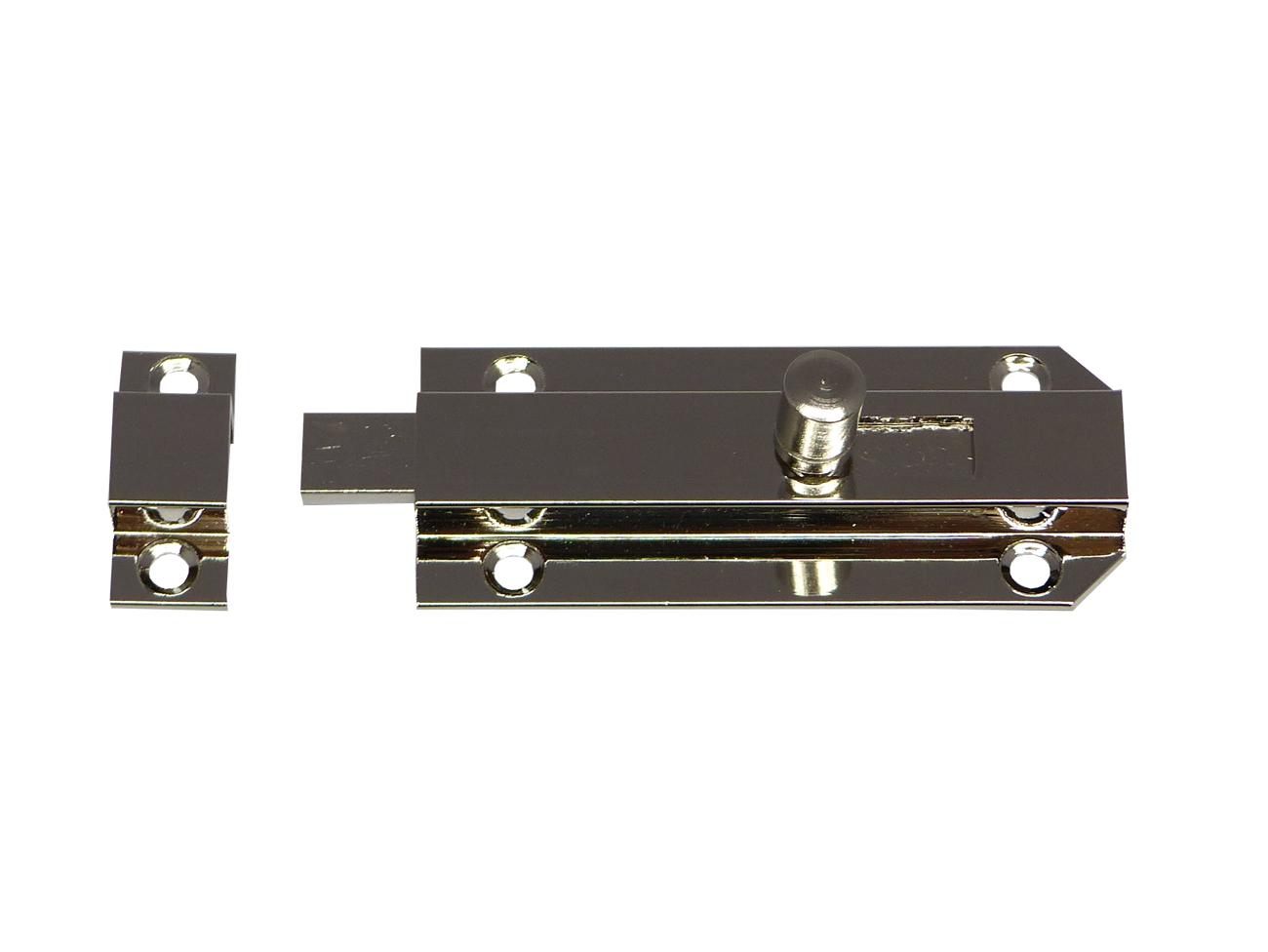Möbelgriffe und Schilder Komplett Set für Kommoden Oberfläche Vernickelt.